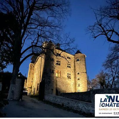 Nuit des chateaux à Charmes sur l'Herbasse  Samedi 23 octobre
