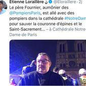""""""" Le héros de Paris """" : pour les Hollandais, c'est l'aumônier des sapeurs-pompiers"""
