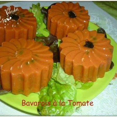 Bavarois à la tomate