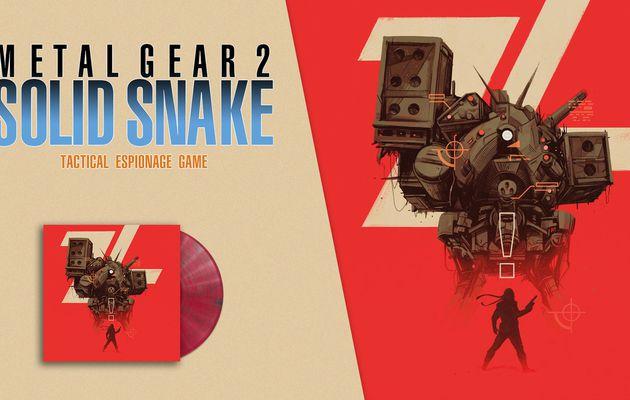 [ACTUALITE] Metal Gear 2 Solid Snake - La bande-son arrive en France au format vinyle