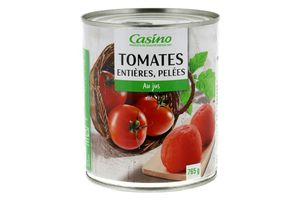 RAPPEL PRODUITS/Tomates entières pelées Casino