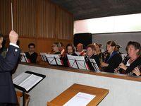 Den Gottesdienst begleitete musikalische der Musikverein Veitshöchheim unter der Leitung von Stefan Wagner.