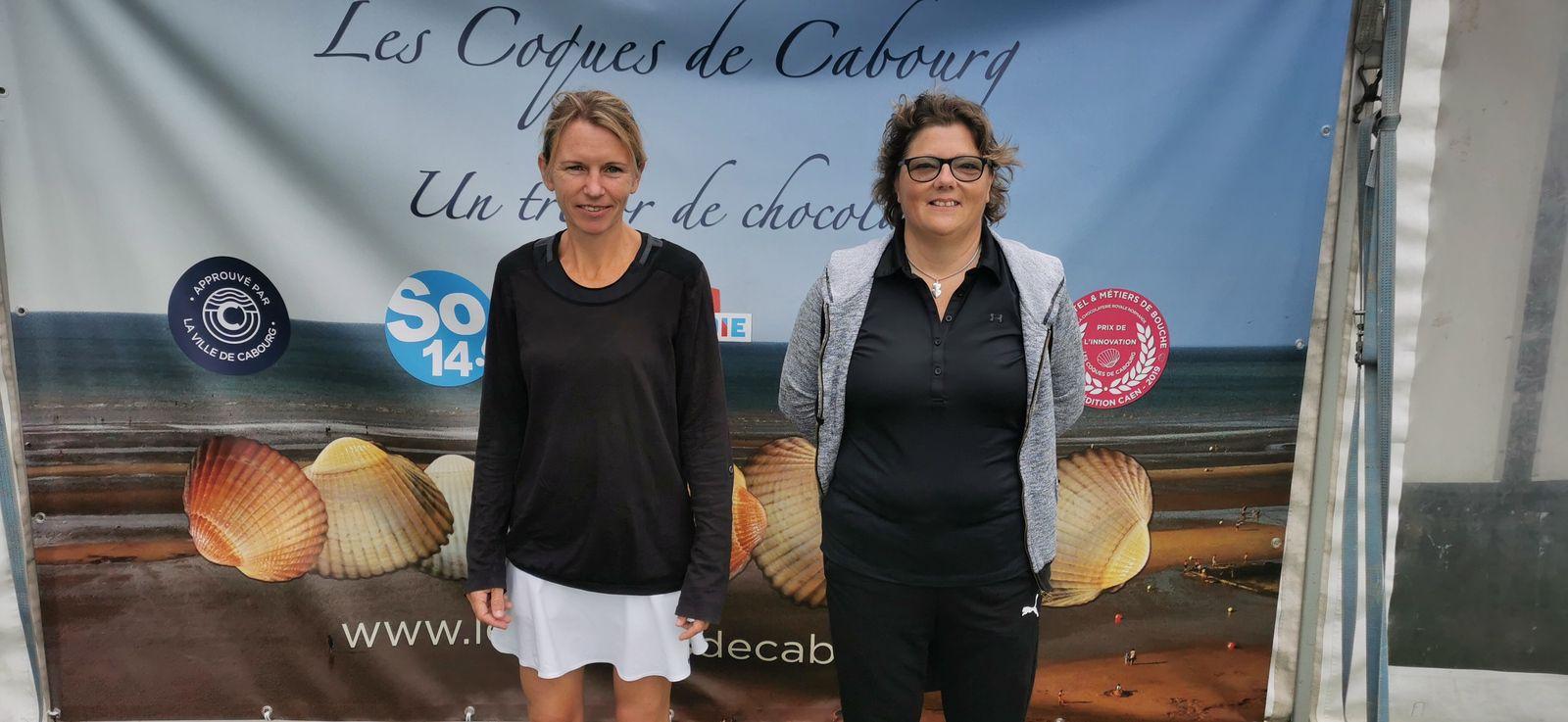 Ingrid Chaffois 15/4 Livarot gagne contre Claudia Yonnet 15/4 Isigny le Buat