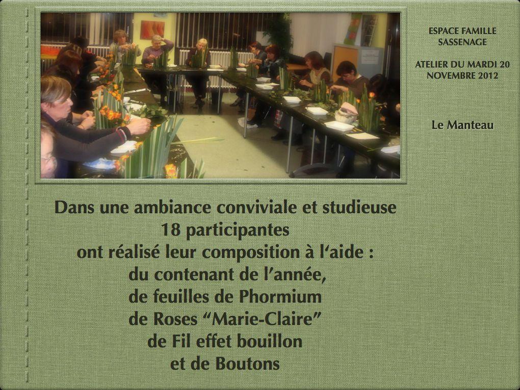 Cours donné à l'Espace famille de Sassenage (cours créé en oct. 2012)