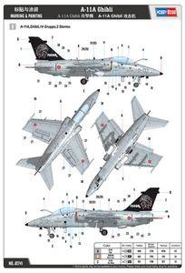 """Aermacchi Embraer AMX A-11 """"Ghibli"""" - 2° Stormo """"Mario d'Agostini"""" - 14° Gruppo Caccia - 10.000 ore"""