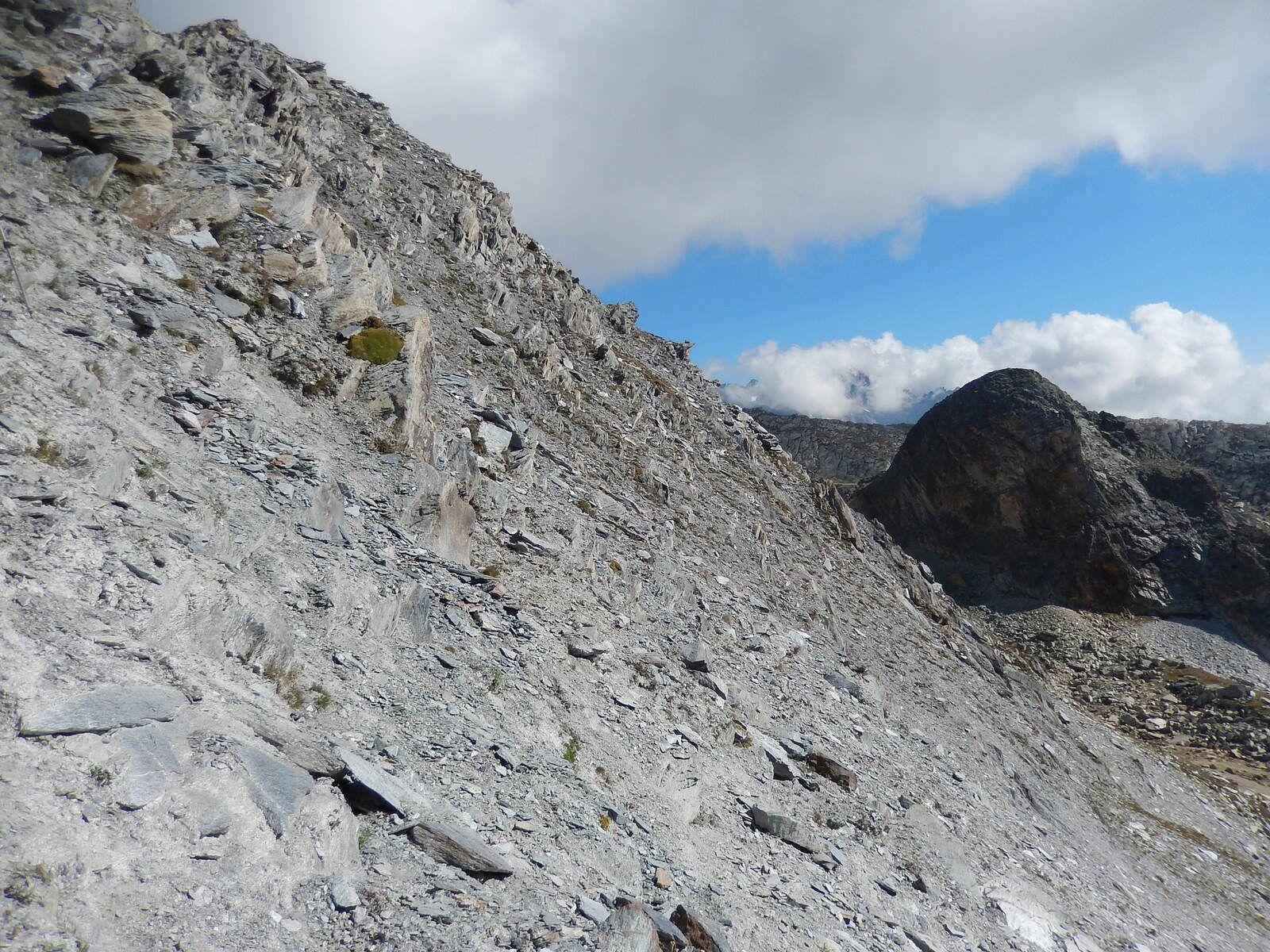 La montée au Col du Ravin Noir