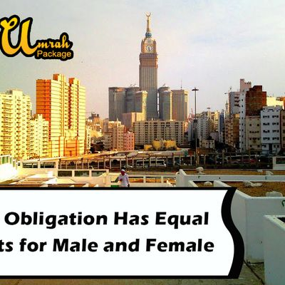 Umrah Obligation Has Equal Benefits for Male and Female