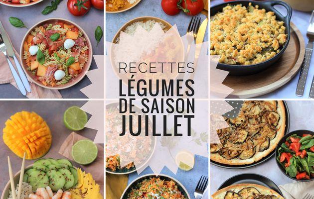 COMPIL RECETTES DE SAISON JUILLET
