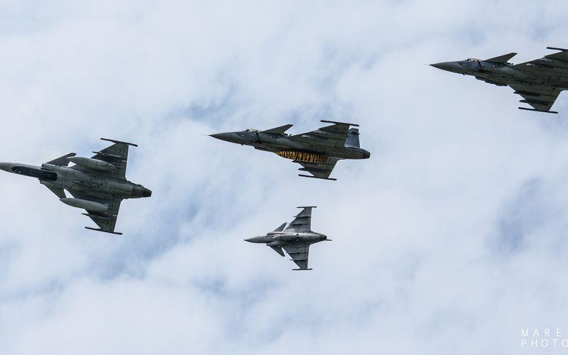 PHOTOS : La République Tchèque fête les 10 ans du JAS-39 Gripen dans sa force aérienne