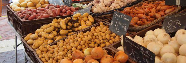 Un marché d'automne sur le cours Saleya