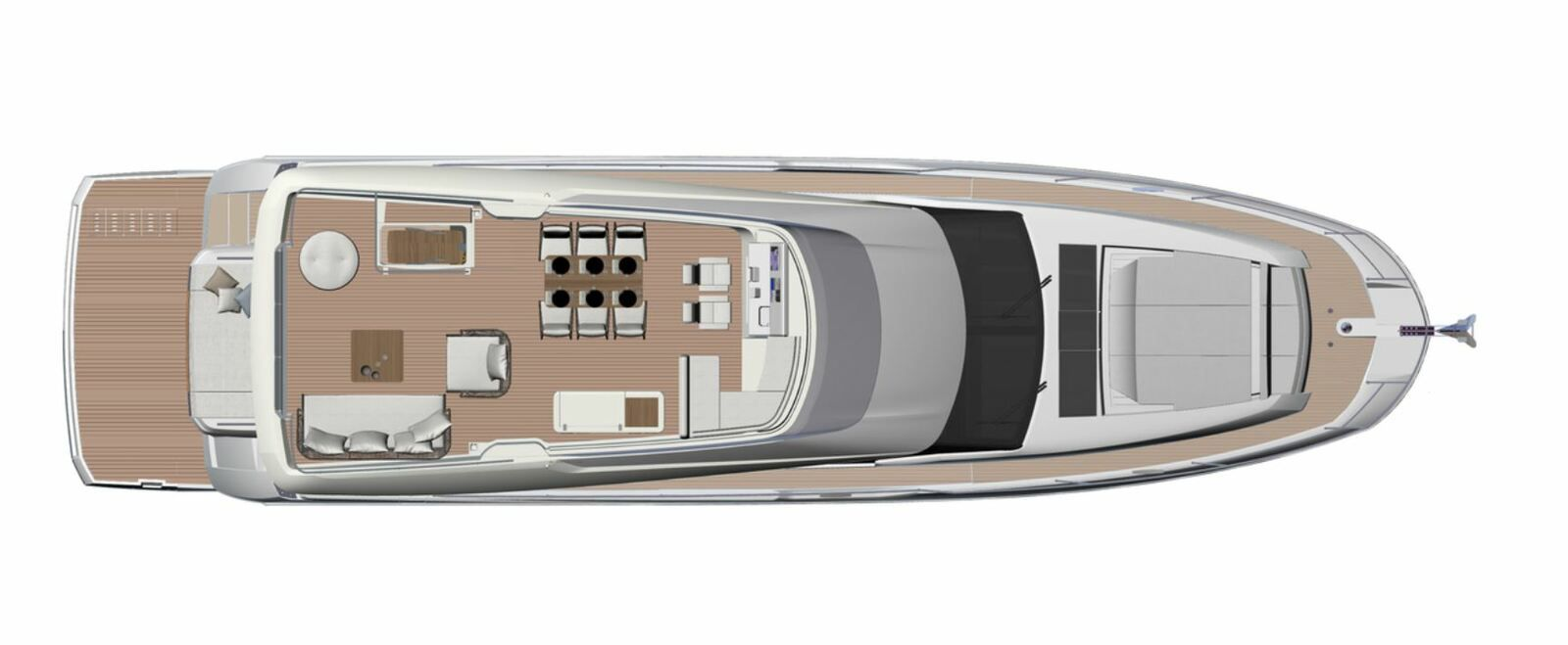 Yachting - Test of the Prestige 690
