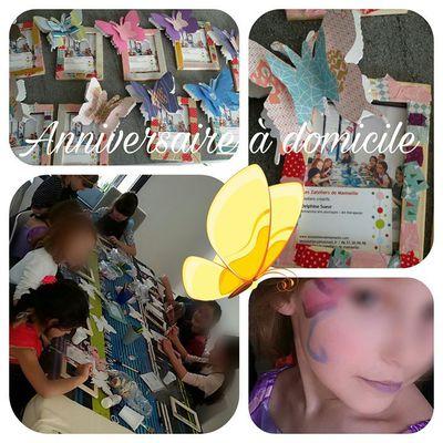 Anniversaire enfants à domicile Ile de France