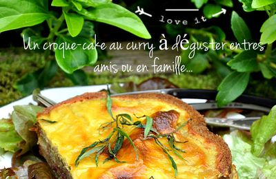 Croque-cake au curry