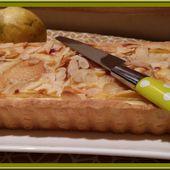 Tarte aux poires et mascarpone - Oh, la gourmande..