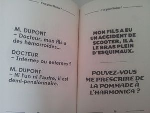 C'est grave docteur? Docteur Michel Guilbert.
