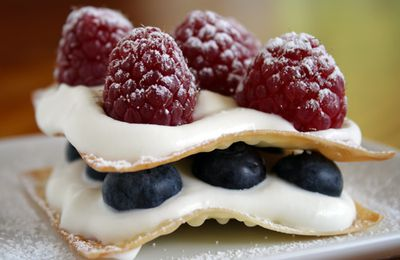 Millefeuille aux fruits