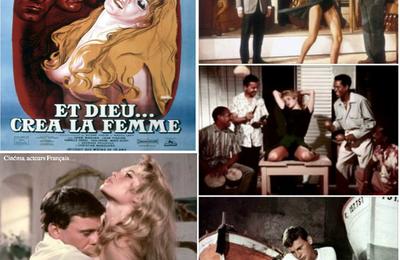 """Le 28 novembre 1956 sortait au cinéma """"ET DIEU...CREA LA FEMME"""" Film de Roger Vadim."""