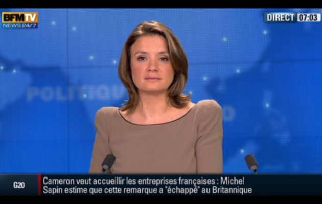 [2012 06 19] PASCALE DE LA TOUR DU PIN - BFM TV - PREMIERE EDITION @07H00