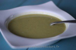 VELOUTE COURGETTE CHOUX FLEUR CURRY