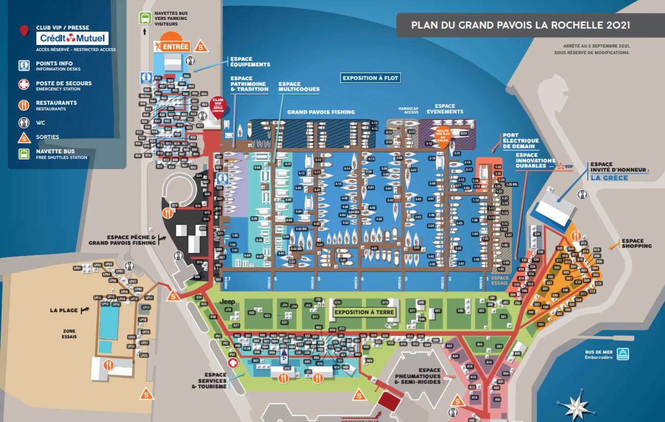 Grand Pavois 2021 - Guide exclusif du Visiteur