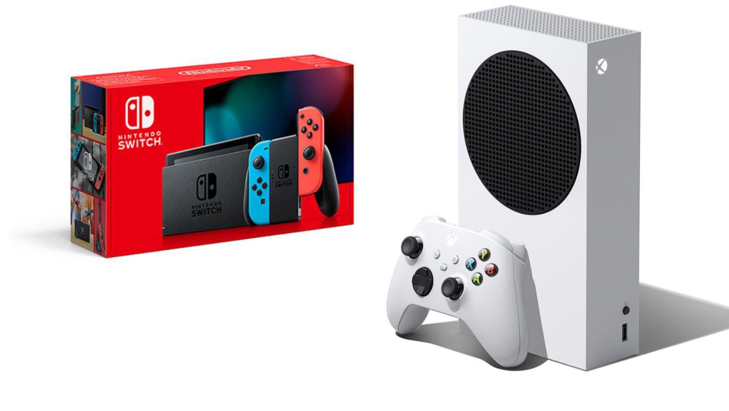 Nintendo Switch vs. XBox Series S