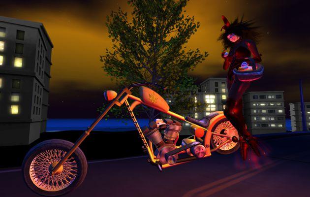 Pâques à moto