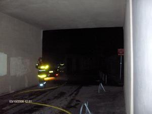 Incendie de voiture aux Eaux-Claires à Grenoble