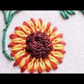 Hand Stitches Tutorial | Long and Short Stitch | Beautiful Flower | HandiWorks #26