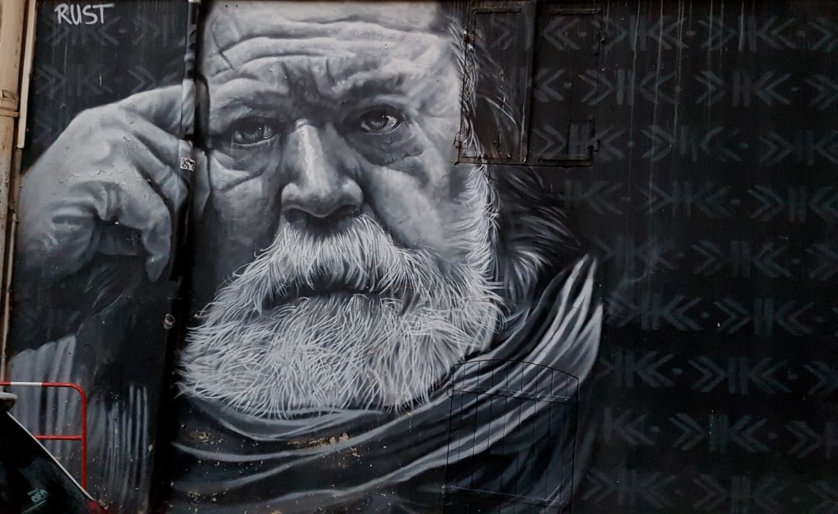 Street Art : Graffitis & Fresques Murales 2A004 Ajaccio