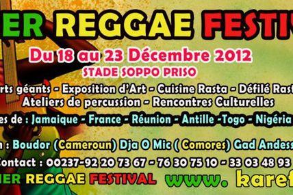 Le Rendez-vous de la 2eme édition du Kamer Reggae Festival, le Festival International de Reggae au Cameroun