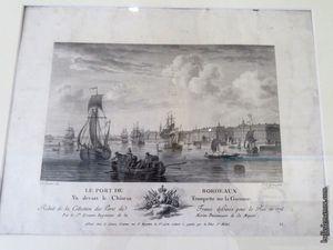 Les ports de Bordeaux et Marseille...