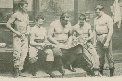 Le lutteur Paul Pons électrise la salle Faure à Moulins en juin 1912