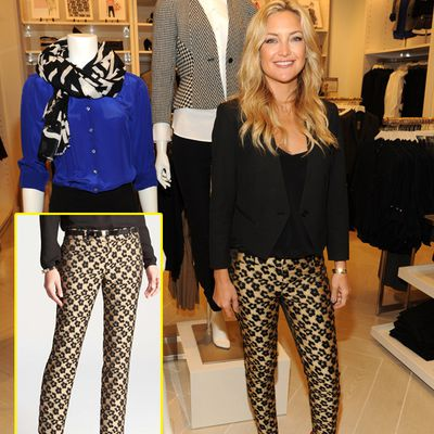 Kate Hudson Looks Pretty In Printed Pants: Try The Trend
