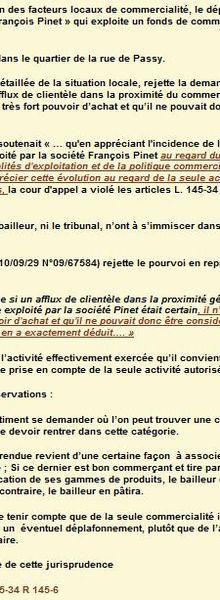 Déplafonnement:activité exercée/autorisée