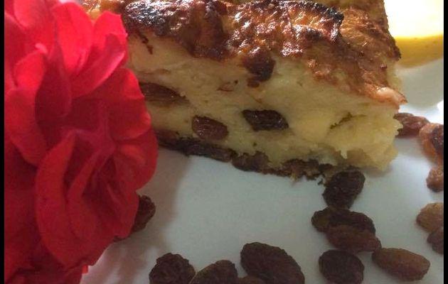 Gâteau automnal à la pomme et aux raisins secs (sans gluten)