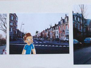 Adolescents - Strip de BD à partir de photos du quartier
