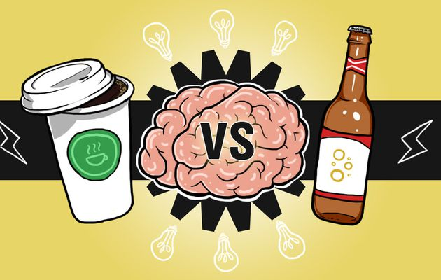 Drink Beer for Big Ideas, Coffee to Get Them Done