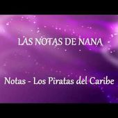 Notas de la Canción Piratas del Caribe | How to Play Pirates of Caribbean