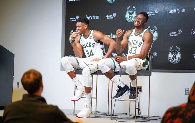 Les frères Antetokounmpo prêts à disputer le NBA Paris Game en janvier 2020 !