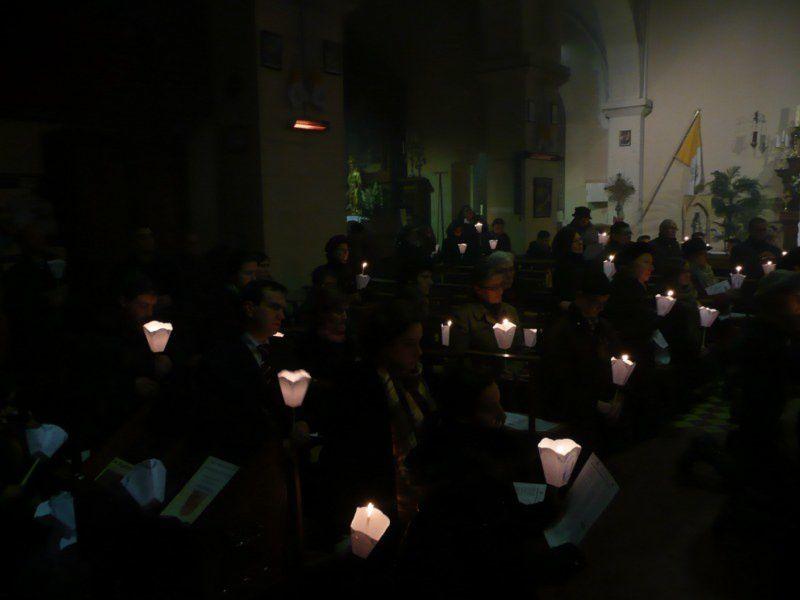 Photos de la procession de l'Immaculée Conception à la chapelle Saint François le mercredi 8 décembre 2010.