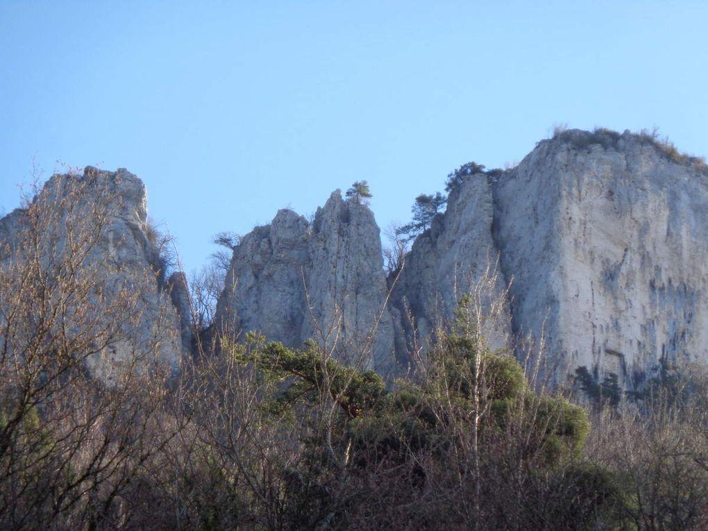 Ma randonnée :Les trois châteaux Pont en Royans