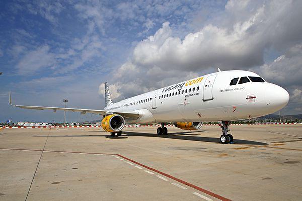 Vueling A321 aerobernie