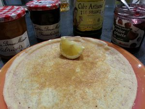 CREPES AU THERMOMIX