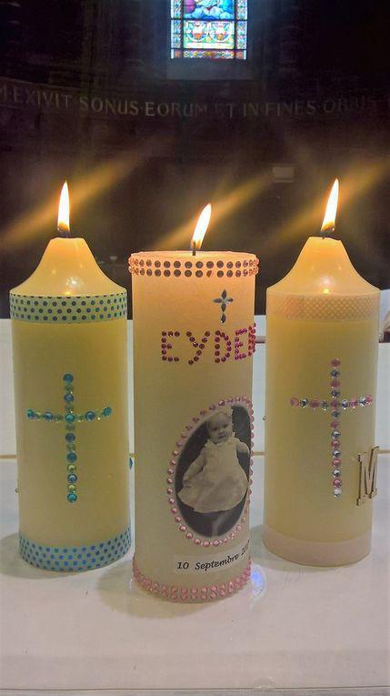 Et vous, êtes-vous prêts à décorer un cierge pour le baptême de votre enfant ?