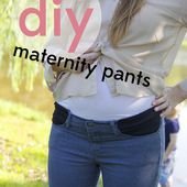 stretchy pocket maternity pants tutorial - see kate sew