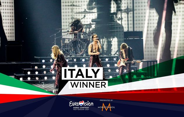 The winner of the Eurovision Song Contest 2021 is Italy !