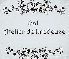 Sal Atelier de brodeuse : nouvelles broderies et finitions - Grille