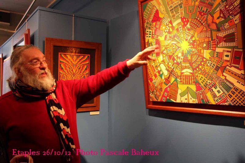CHRISTIAN LAMIRAND...EXPOSE à l' ART'TRIUM d'HESDIN...