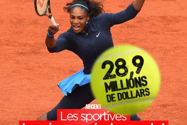 Les sportives les mieux payés du monde ! #business