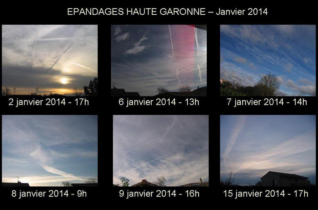 87 jours d'épandages aériens en 2014 en Haute-Garonne